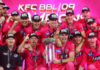 Sydney Sixers squad picture after winning BBL09