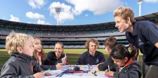 ICC T20 World Cup 2020 Schools Program picture