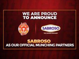 Islamabad United partnership with Sabroso