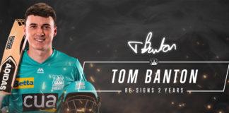 Brisbane Heat Tom Banton