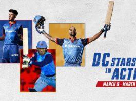 DC Stars International Fixtures