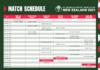 ICC Women's Cricket World Cup Schedule