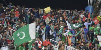 Rawalpindi and Islamabad fans at PSL match