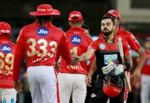 Royal Challengers Bangalore and Kings XI Punjab