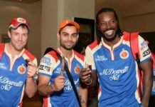 RCB's Top 5 batsmen over the years
