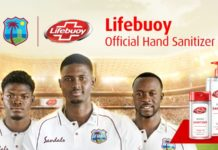 CWI: Lifebuoy becomes the official hand sanitizer of West Indies tour of England