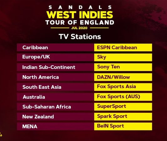 CWI: #raisethebat test series - how to watch, listen and engage