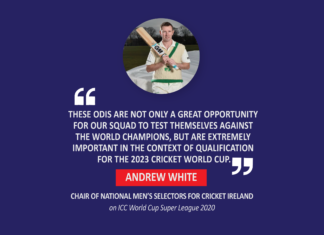 Andrew White, Chair Of National Men's Selectors For Cricket Ireland (On Icc World Cup Super League 2020)