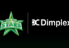 Mebourne Stars: Stars stay cool this summer with Dimplex