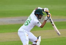 ICC: Babar and Shan lead the way on shortened opening day