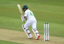 PCB: Abid's 60 take Pakistan to 126-5 on rain-hit day