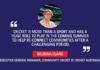 Belinda Clark, Executive General Manager, Community Cricket, Cricket Australia