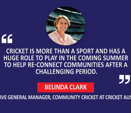 Belinda Clark, Executive General Manager, Community Cricket, Cricket Australia