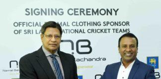 SLC signs Namal Balachandra as the official formal clothing partner
