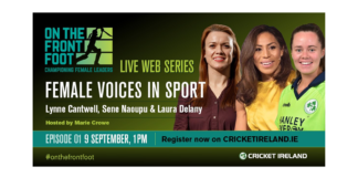 Cricket Ireland set to launch new three-part Women's Leadership web series