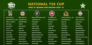 PCB: Squads for National T20 Cup confirmed
