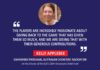 Kelly Applebee, GM Member Programs, Australian Cricketers' Association on the 3rd year of the ACA's $30m Grassroots Cricket Fund