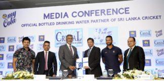 """""""Historic partnering My Cola"""" – SLC Secy. Mohan de Silva; """"We grew up with cricket"""" – My Cola Ex; Dir. /CEO, Sharm Fernando"""