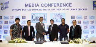 """My Cola's Cristal and Life becomes the """"Official Bottled Drinking Water Partner"""" of Sri Lanka Cricket"""