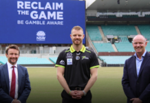 Sydney Thunder strike partnership with office of Responsible Gambling