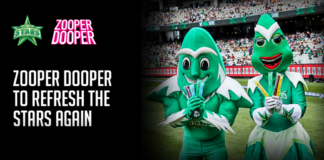 Melbourne Stars bring splash of colour with Zooper Dooper