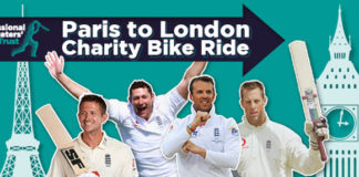 PCA: Support the Professional Cricketers' Trust by pedalling between two iconic capital cities