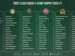 PCB: Head coaches confirm Quaid-e-Azam Trophy squads