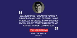 Stephen Fleming, Head Coach, CSK on IPL 2020