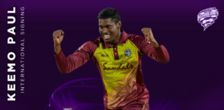 Hobart Hurricanes: Keemo Paul to make BBL debut with Hurricanes