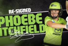 Sydney Thunder: Phoebe Litchfield signs on