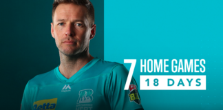 7 Home games confirmed for Brisbane Heat