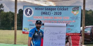 USA Cricket: MVPs announced for Franchise Exhibition Matches in Minor League Cricket