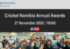 Cricket Namibia Annual Awards