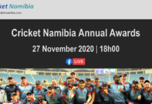 Cricket Namibia Annual Awards