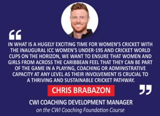 Chris Brabazon, CWI Coaching Development Manager on the CWI Coaching Foundation Course