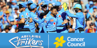 Adelaide Strikers join with Cancer Council SA to urge South Australians to be sunsmart