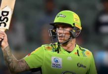 Sydney Thunder: Hales voted Members' Player of BBL|10
