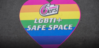 Sydney Sixers play Hurricanes in Pride Party match