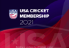 USA Cricket Membership 4th progress update
