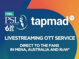 PCB to partner with tapmad TV for HBL PSL 6 streaming in Australia and MENA