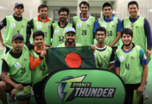 Sydney Thunder: Record number of players trial for Bangladesh community team
