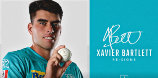 Brisbane Heat: Xavier Bartlett signs new deal