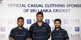 LiCC to continue as 'Official Casual Clothing Sponsor of Sri Lanka Cricket' for another three years