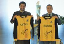 OPPO Signed as Peshawar Zalmi's Sponsor for PSL 6