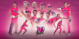 Sydney Sixers name Team of the Decade