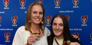SACA: Lowe and McKinnon, Davis and Kerber awarded Premier Cricket's best