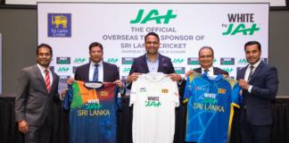 "JAT Holdings the ""Official Overseas Team Sponsor of Sri Lanka Cricket"""