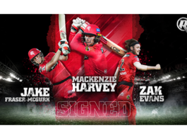Melbourne Renegades: Young trio commit to Renegades