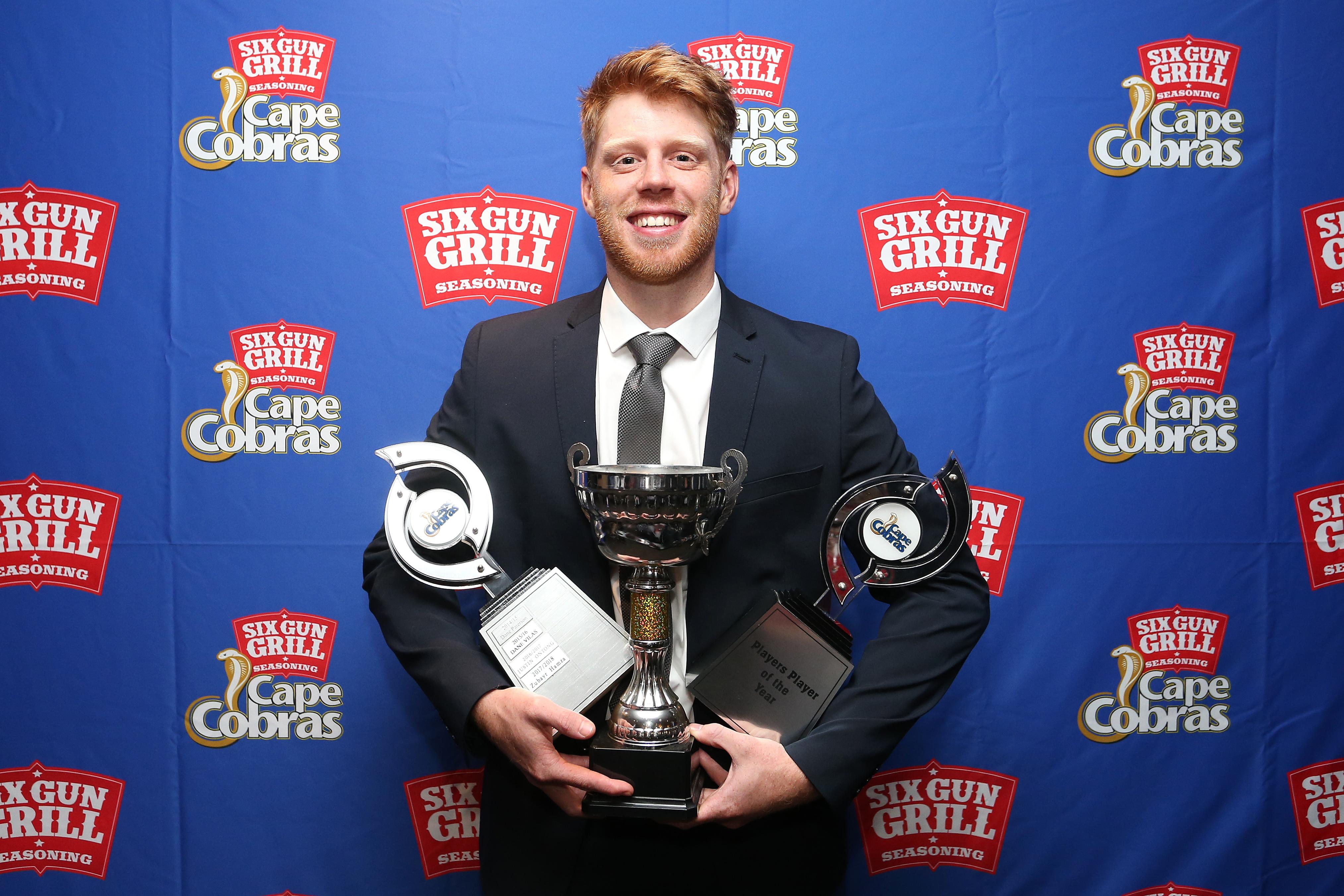 CSA: Verreynne the big winner at Six Gun Grill Cape Cobras End of Season Awards