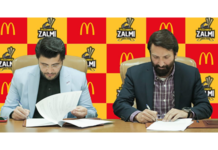 MOU Signed Between Peshawar Zalmi and McDonald's ahead of PSL 6